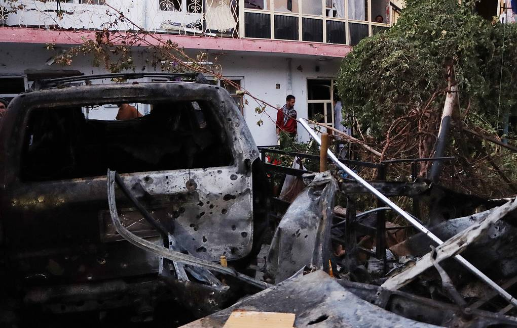 Nove persone uccise nel raid aereo Usa a Kabul, 6 erano bambini