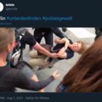 Proteste anti confinamento. La brutalità della polizia tedesca su donna anziana all'attenzione dell'Onu