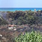 L'assedio del fuoco, brucia il Centrosud