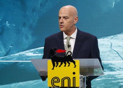 """Eni, Descalzi: """"Subito un piano sulla sicurezza energetica.Nucleare difficile"""""""