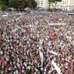 Ero a San Giovanni ieri e vi racconto chi c'era (veramente) in piazza