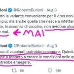 Ormai lo ammette anche Burioni: è la vaccinazione a tappeto che…