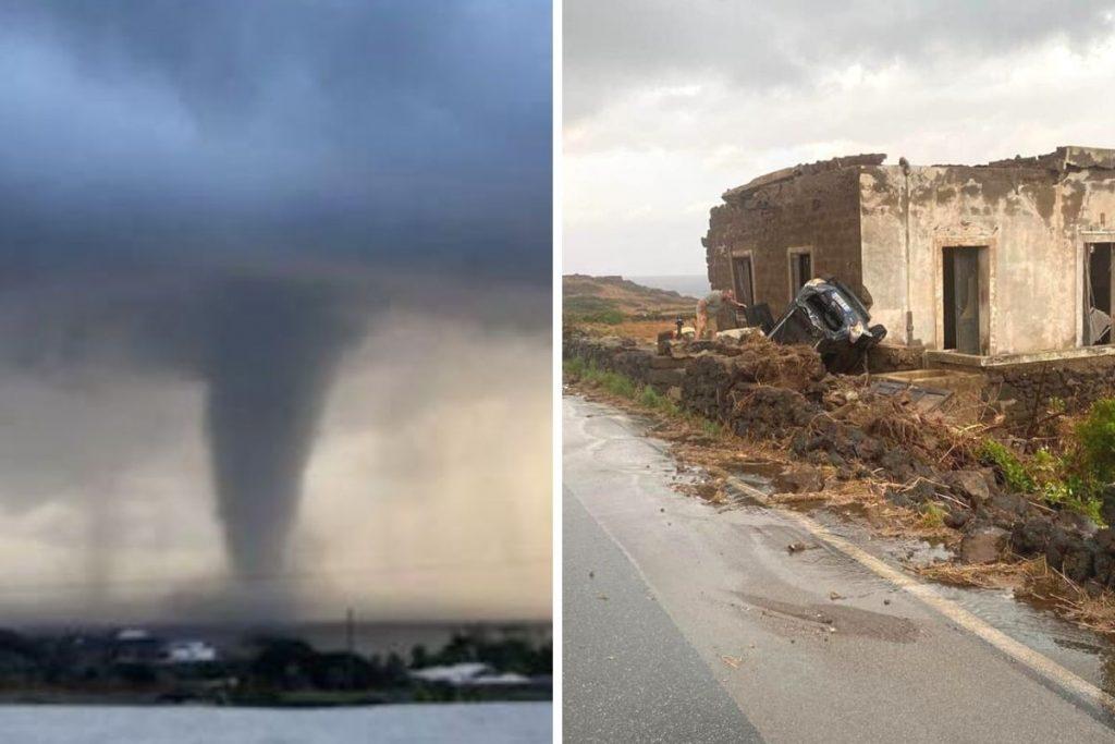 """La violenta tromba d'aria che ha colpito Pantelleria è uno dei tanti """"effetti collaterali"""" della crisi climatica"""