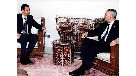 Anno 2003. Colin Powell, le minacce e le origini della guerra alla Siria