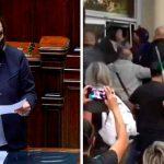 Lamorgese sapeva ma non ha fermato l'assalto alla Cgil: la folle ammissione in Aula